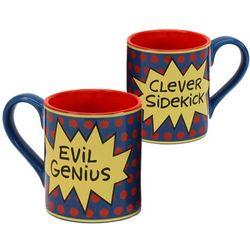 Comic Duo Mug Set