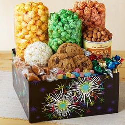 Fireworks Popcorn and Treats Gift Box