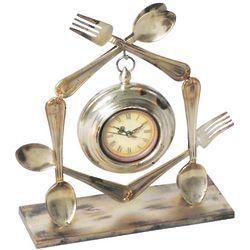 Modern Untensils Clock