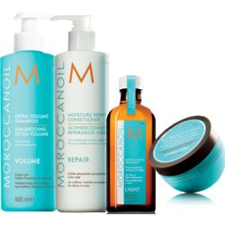 Moroccanoil Intense Gold Hair Treatment Set