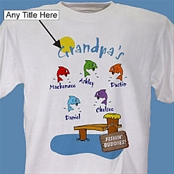 Fishing Buddies Personalized T-Shirt
