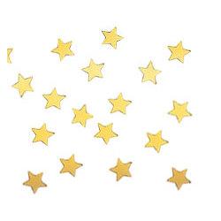 Gold Metallic Stars Confetti