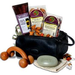 Men's Travel Tote Gift Basket