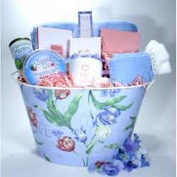 Deluxe Breast Cancer Basket of Courage