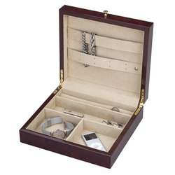 Dark Elm Mens Jewelry & Accessories Storage Box