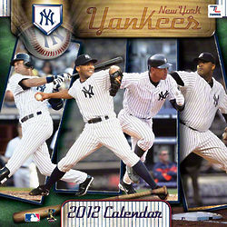 New York Yankees 2012 Wall Calendar