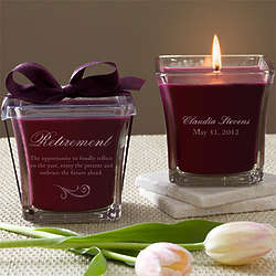Happy Retirement Mulberry Scented Spa Candle