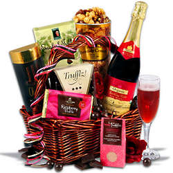 Mother's Day of Indulgence Non Alcoholic Gift Basket