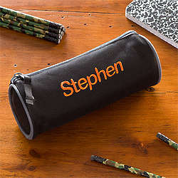 Personalized Boy's Pencil Case and Pencil Set