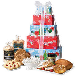 Festive Flavors Deluxe Gift Tower