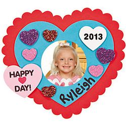 2013 Valentine's Day Photo Frame Magnets Craft Kit