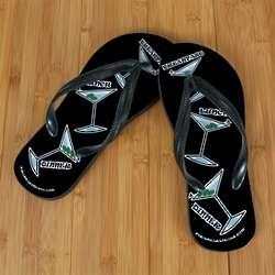 Black Martini Beacher Sandals