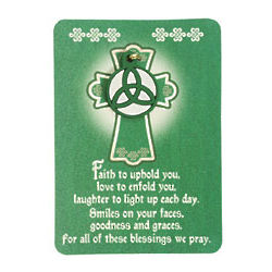 Irish Blessing Wallet Cards
