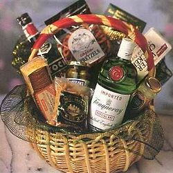 Perfect Tanqueray Martini Gift Basket