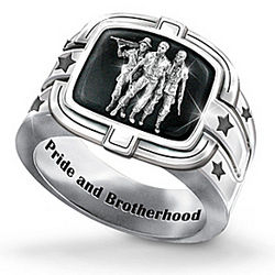 Men's Brotherhood of Veterans Ring