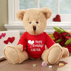 Personalized Birthday Stuffed Teddy Bear