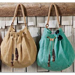 Universal Jute Hobo Bag