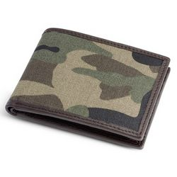 Camouflage Canvas Wallet