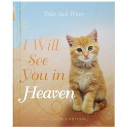 Cat Lover's I Will See You in Heaven Book
