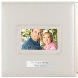 Faux Leather 4x6 Personalized Photo Album
