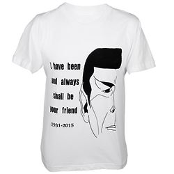 Spock's Friend Quote Limited Edition Unisex T-Shirt