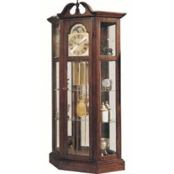 Richardson I Grandfather Clock and Curio Cabinet