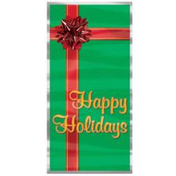 """Happy Holidays"" Christmas Door Cover"