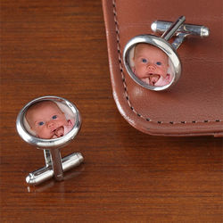 Personalized Photo Cuff Links