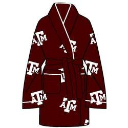Ladies' Texas A&M All Over Print Cozy Robe