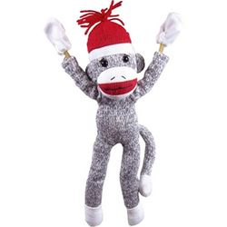 Slingshot Flying Sock Monkey