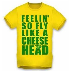 Packers Fly Like a Cheesehead Gold T-Shirt