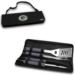 Green Bay Packers 3 Piece BBQ Tote