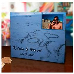 I Love You 8x10 Photo Panel