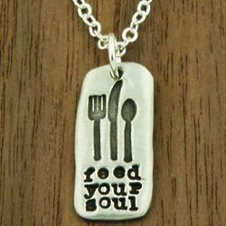 Feed Your Soul Pendant