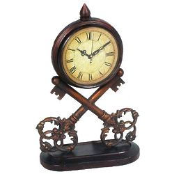 Antique Keys Clock