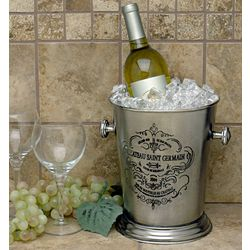 Chateau St. Germain Pewter Wine Chiller