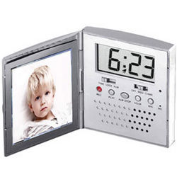 Talking Alarm Clock Picture Frame