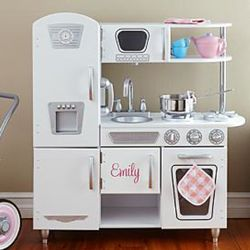 Vintage Personalized Play Kitchen