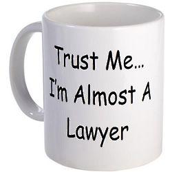 Almost A Lawyer Ceramic Mug