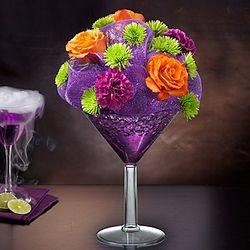 Shocktail Martini Glass Bouquet