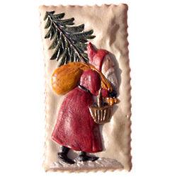 Santa Springerle Cookie