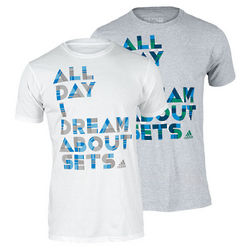 Men's Dream About Sets Tennis T-Shirt