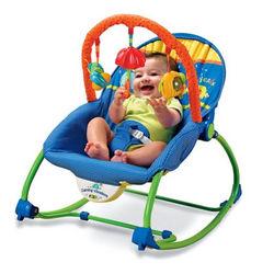 Animal Stripe Infant-to-Toddler Rocker