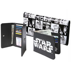 Women's Star Wars Checkerboard Wallet