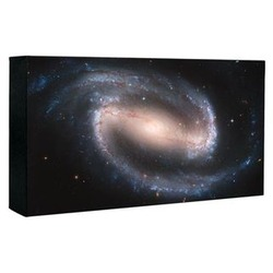 Hubble Barred Spiral Galaxy Image Canvas Print
