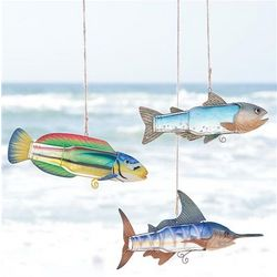 Recycled Bottle Fish Ornament