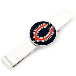 Chicago Bears Rhodium-Plated Tie Bar
