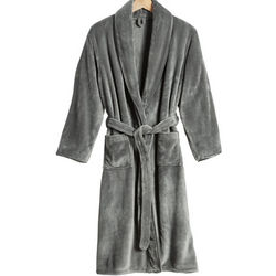 "48"" Long Gray Nap Robe"