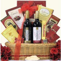 Italian Duet Gourmet Wine Gift Basket