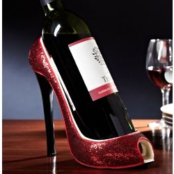 Razzle Dazzle Red Shoe Wine Holder